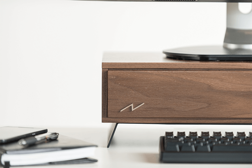 Volta V – walnut hardwood